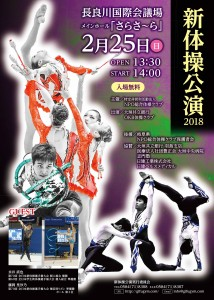 新体操公演2018ポスター