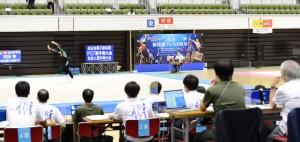 2020新体操フェスタ岐阜試合風景
